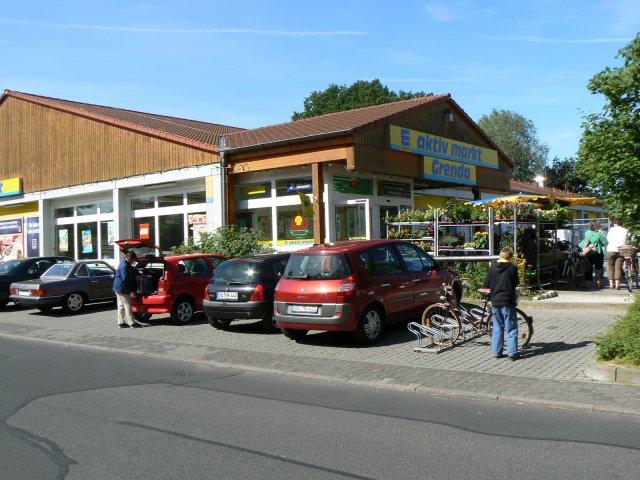 Supermarkt parkplatz