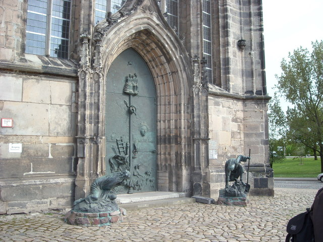 Church Door, Magdeburg