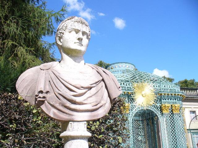 Roemische Figur, Sanssouci
