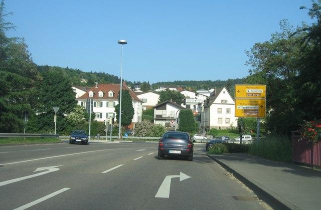 Bundesstraße 3 / Bergstraße