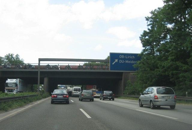 Dichter Verkehr - E35