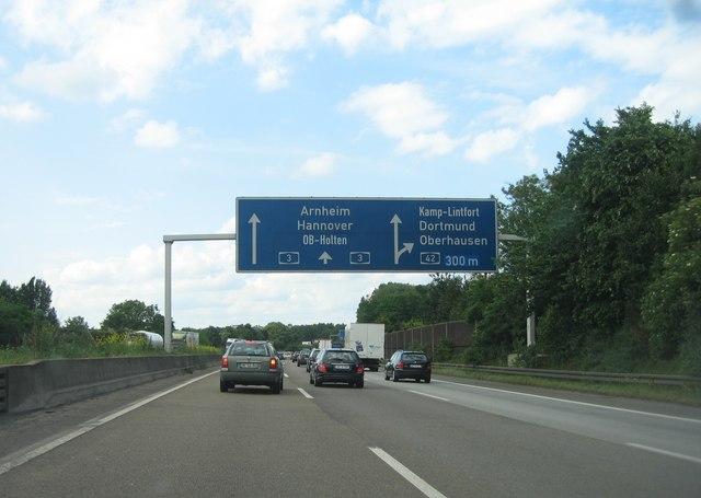 Autoverkehr - Oberhausen/Dortmund