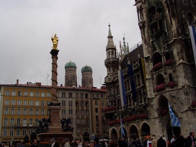 Marienplatz, Muenchen