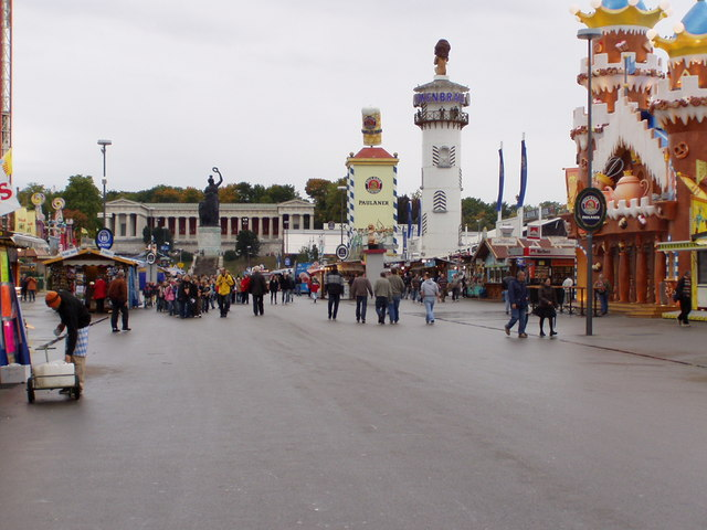 The Munich Oktoberfest 2008