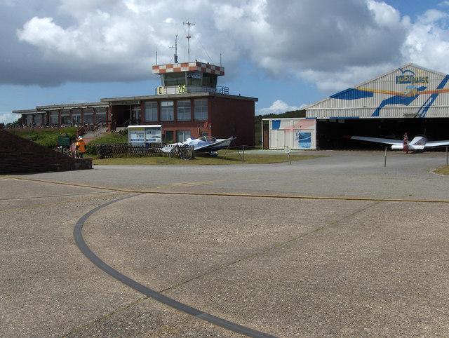 Juist: Flugplatz