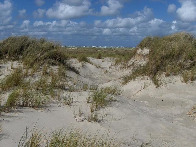 Nordost-Juist: Dünen und Strand