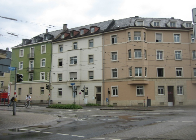 Wohnblock - Poststraße