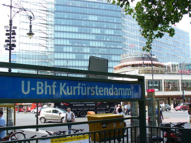 U-Bahnhof Kurfürstendamm