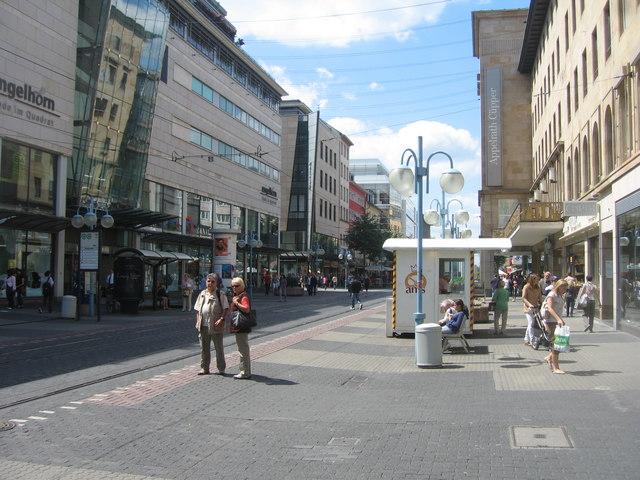 Planken, Mannheim