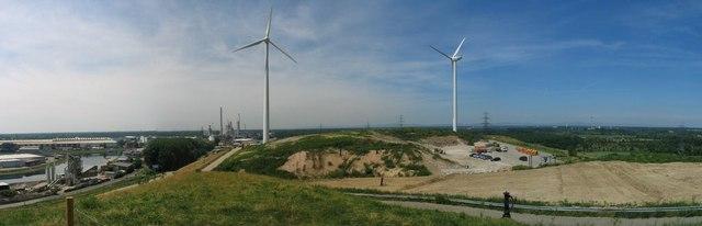 Windmühlenberg im Rheinhafen