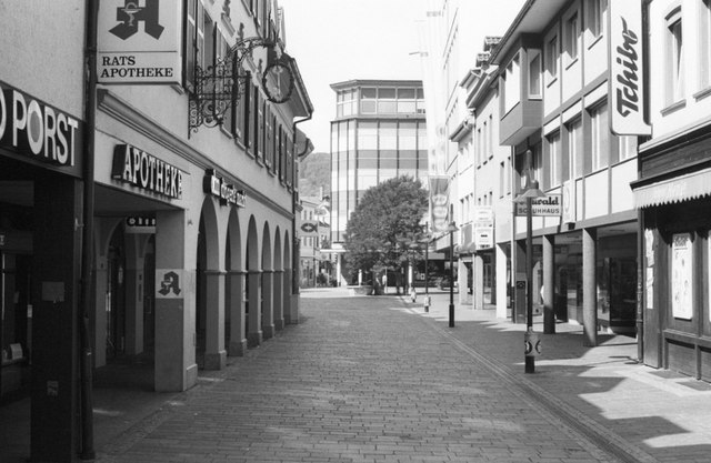 Innenstadt Lörrach, Turmstraße (Lörrach inner city)