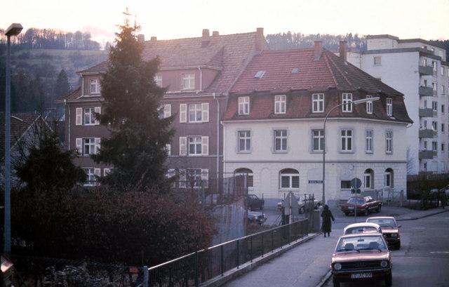 Kreuzung Kanderner Straße/Wollbacher Straße