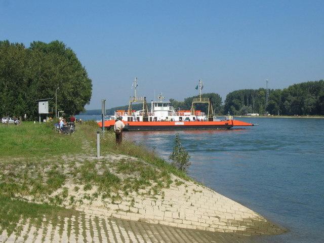 Rheinfähre Leimersheim