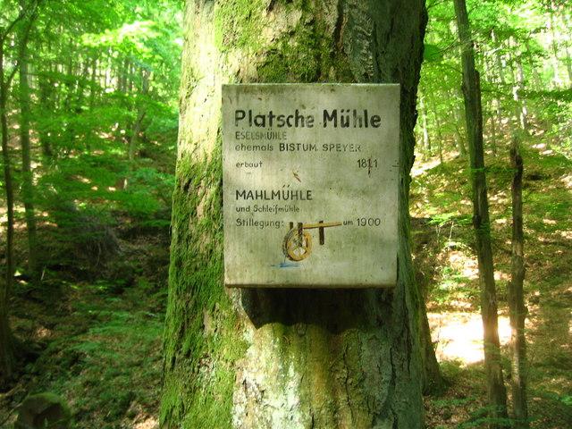 Platsche Mühle