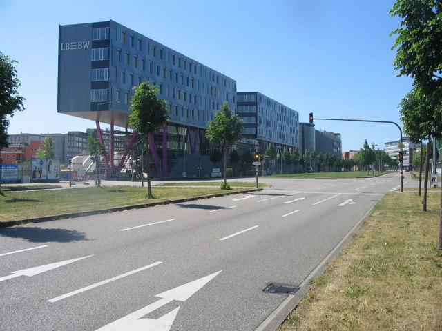 Neubau der Landesbank Baden-Württemberg
