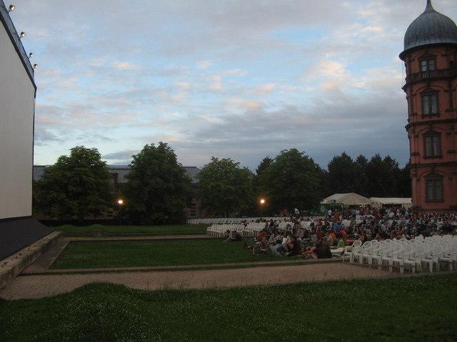 Open Air Kino am Schloss Gottesaue