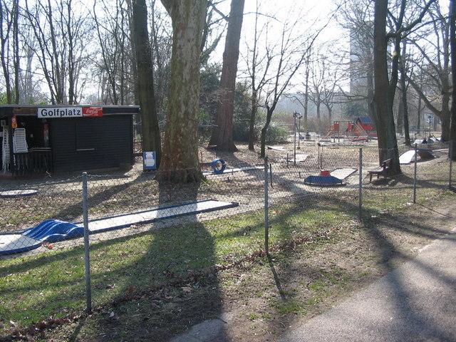 Minigolfplatz an der Beiertheimer Allee