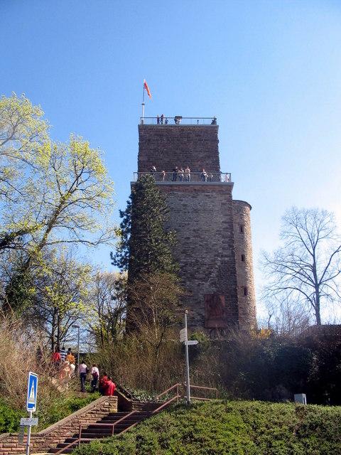 Aussichtsturm auf dem Turmberg Durlach