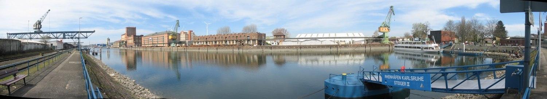 Rheinhafen Karlsruhe Becken 2