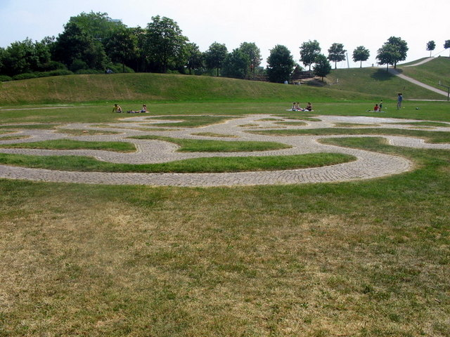 Labyrinth in der Günther-Klotz-Anlage