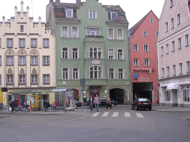 Traditional  Buildings, Regensburg