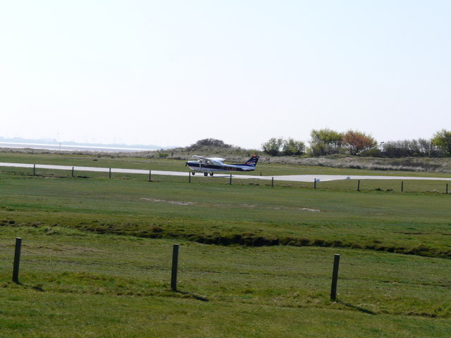 Flugplatz auf Baltrum (Airfield on Baltrum)