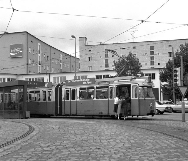 Tram at  Am Harras