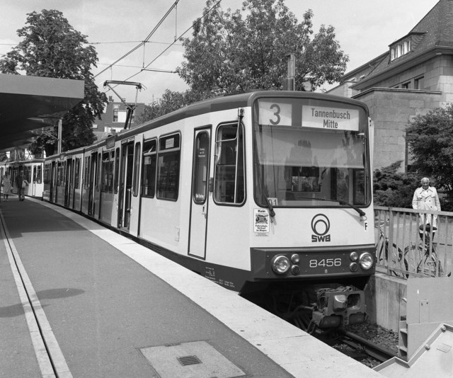 Tram at Bad Godesberg