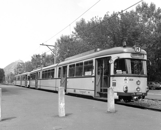 Tram at Bad Honnef