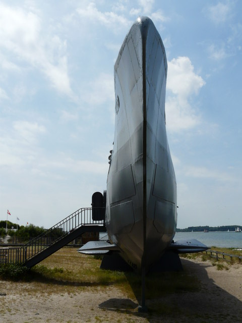 U-Boot vor Laboe (Submarine near Laboe)