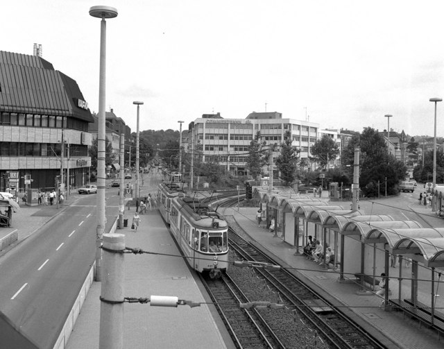Trams at Bad Canstatt