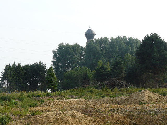 Alter Wasserturm bei Holz (Old water tower near Holz)
