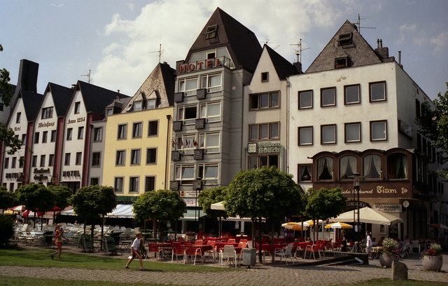 Hotels by the Rhine
