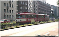 ULB5644 : Tram on Route 7 near Heumarkt von Dr Neil Clifton