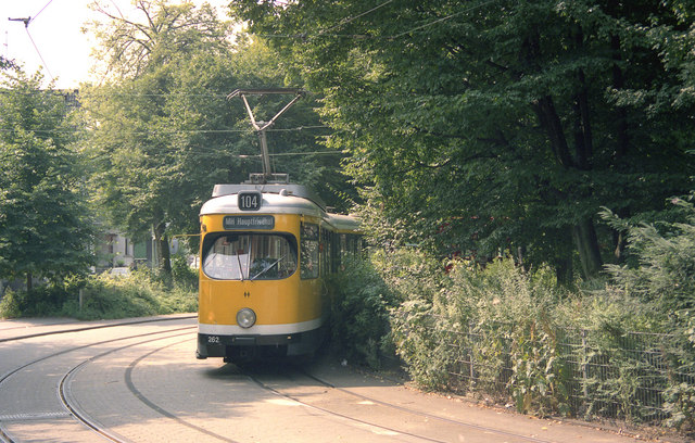 Mulheim tram at Rellinghausen