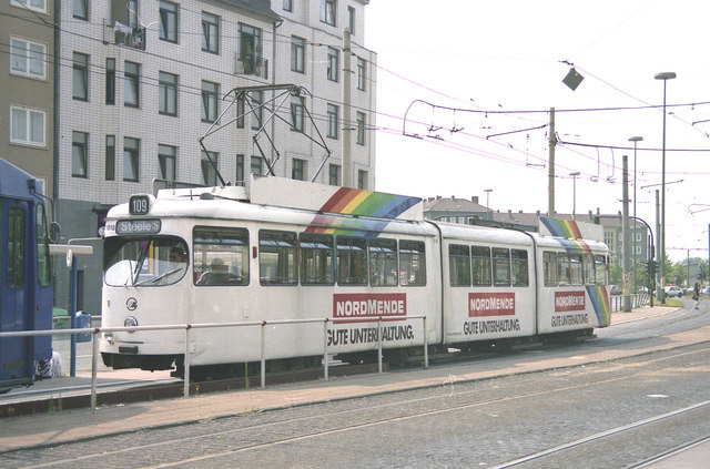 Essen tramways:  Route 109