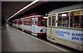 ULB5645 : Koln:  Tram in subway at DomHbf von Dr Neil Clifton