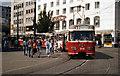 UMD8781 : Tram on Route 1 in Bremen von Dr Neil Clifton