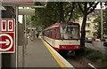 ULB5442 : Tram at Sulzgurtel, Koln von Dr Neil Clifton
