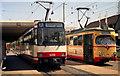 UMV5627 : Trams outside Karlsruhe Hauptbahnhof von Dr Neil Clifton