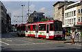 ULB5299 : Stadtbahn car in Mulheim Stadmitte von Dr Neil Clifton
