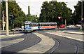 UNB3184 : Tram near Wilhelmshoehe station, Kassel von Dr Neil Clifton