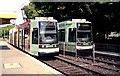 ULB7119 : Straßenbahnen in Oberkassel, Süd (Trams at Oberkassel Sud) von Dr Neil Clifton