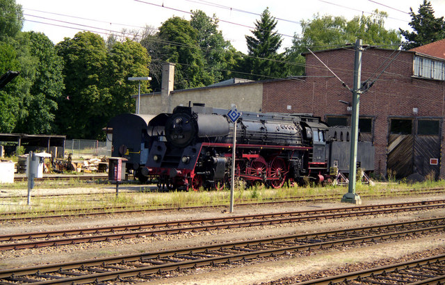 Steam locomotive at Rottweil