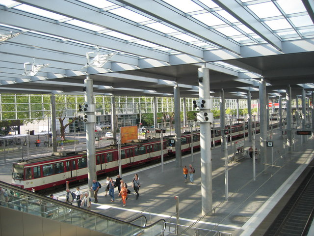 Düsseldorf - Messe Nord (Duesseldorf - Trade fair centre north)