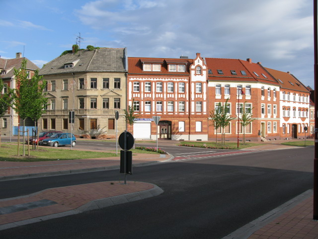 Houses on Magdeburger Chaussee, Burg