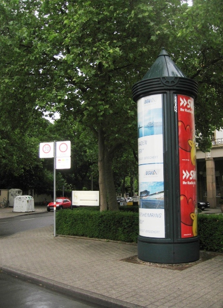 Litfaßsäule (Advertising Pillar)