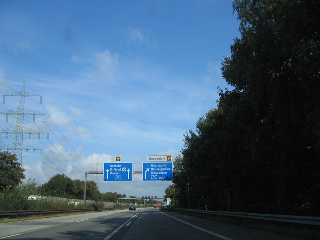 Kaarster Kreuz A52 / A57 (Kaarster Kreuz ( motorway junction))