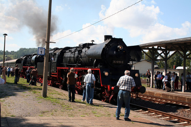 Steam locomotives at Nossen