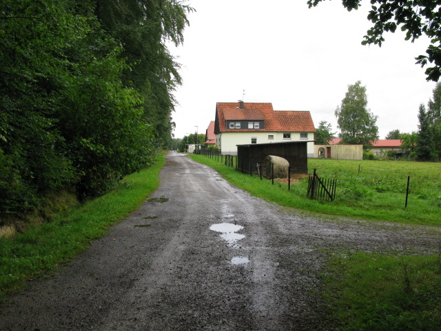 View along Waldstraße, Bannensiek